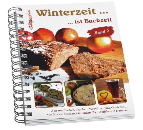 """Backbuch """"Winterzeit... ist Backzeit"""" – Teil 2"""
