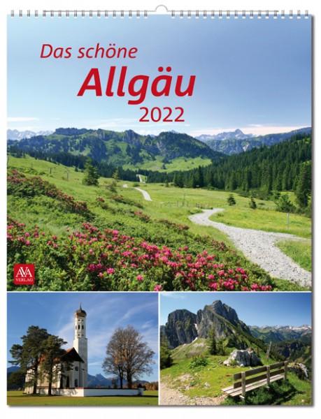 Bildkalender - Das schöne Allgäu 2022