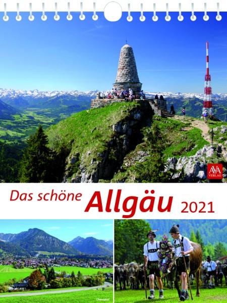 Bildkalender - Das schöne Allgäu 2021