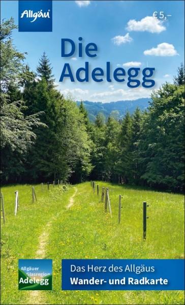 Adelegg Wander-/Radkarte