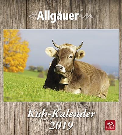 Die Allgäuerin Kuh-Kalender 2019