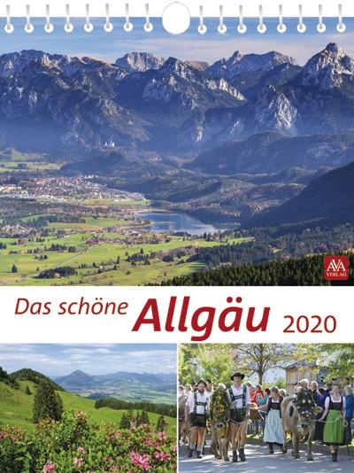 Kalender Das schöne Allgäu 2020