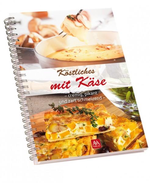 """Kochbuch """"Köstliches mit Käse"""""""