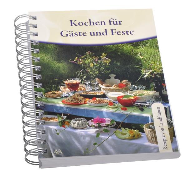 """Kochbuch """"Kochen für Gäste und Feste"""""""
