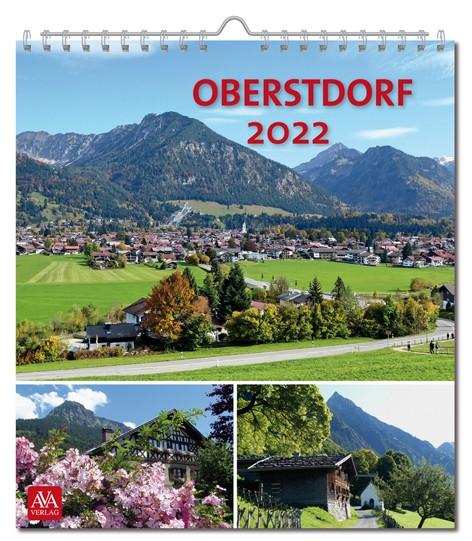 Postkartenkalender Oberstdorf 2022