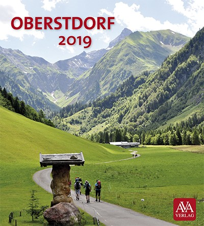 Postkartenkalender Oberstdorf 2019
