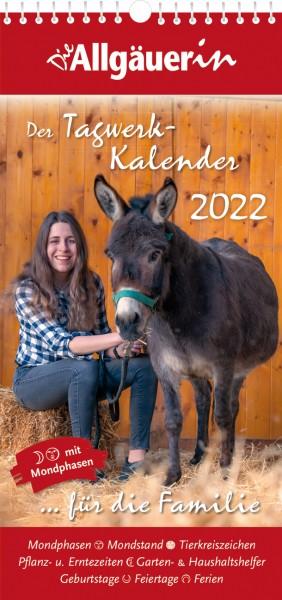 Die Allgäuerin Tagwerkkalender 2022