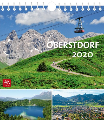 Postkartenkalender Oberstdorf 2020