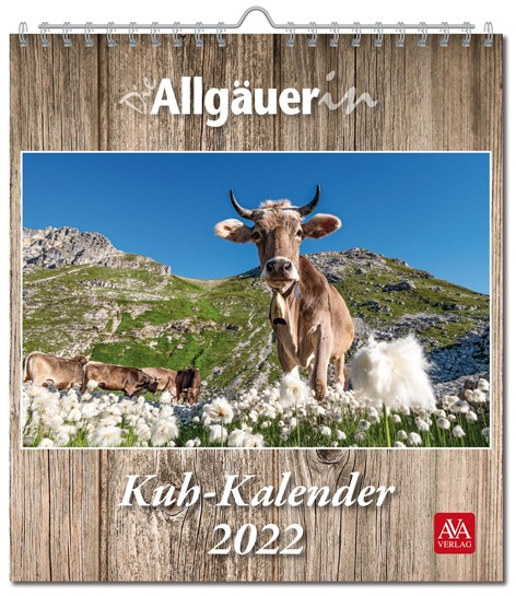 Die Allgäuerin Kuh-Kalender 2022