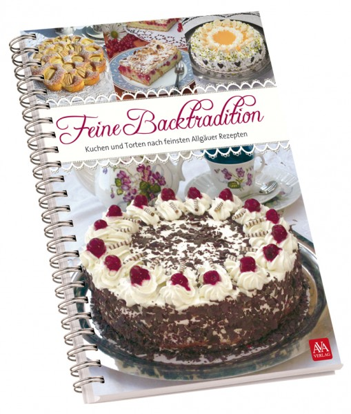 "Backbuch ""Feine Backtradition"" (innen Querformat)"