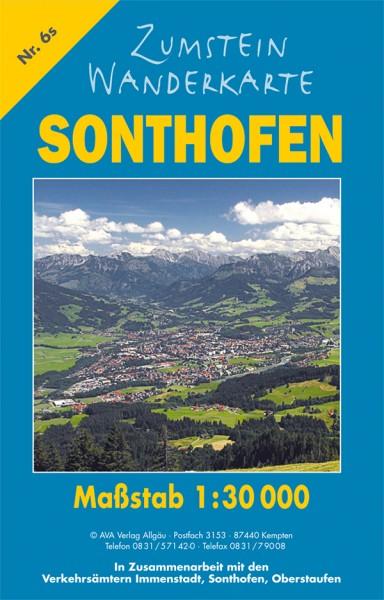 Zumstein Wanderkarte Sonthofen/Immenstadt