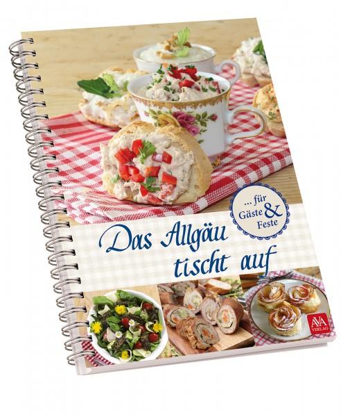 """Kochbuch """"Das Allgäu tischt auf"""""""