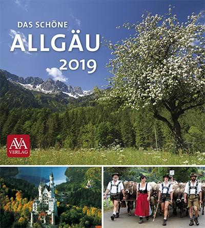 Postkartenkalender Das schöne Allgäu 2019