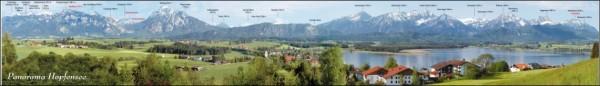 Panoramakarte Hopfensee