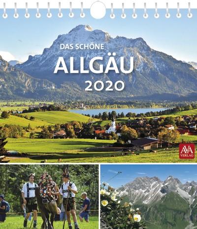 Postkartenkalender Das schöne Allgäu 2020