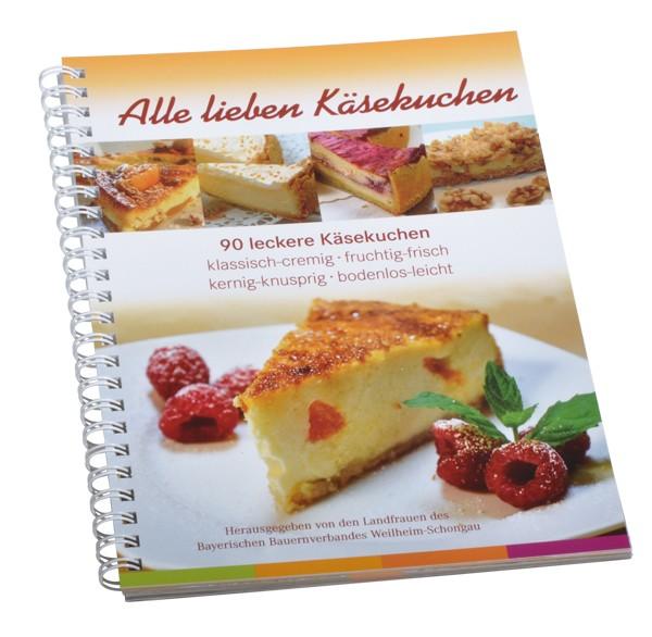 "Backbuch ""Alle lieben Käsekuchen"""