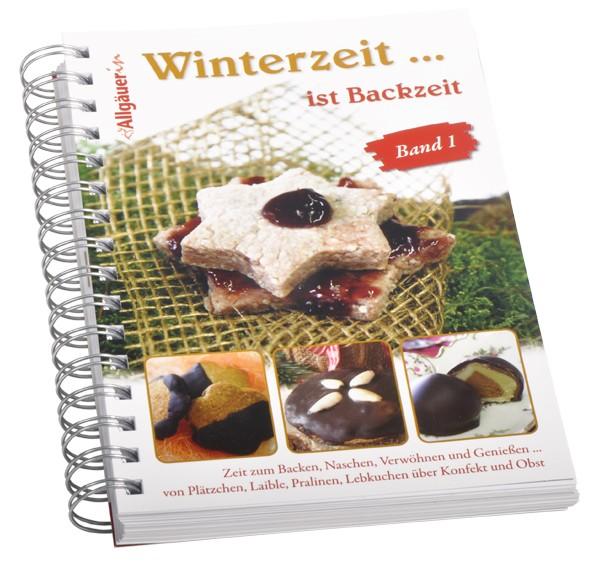 """Backbuch """"Winterzeit... ist Backzeit"""" – Teil 1"""
