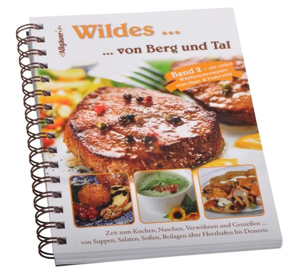 """Kochbuch """"Wildes... von Berg und Tal"""""""