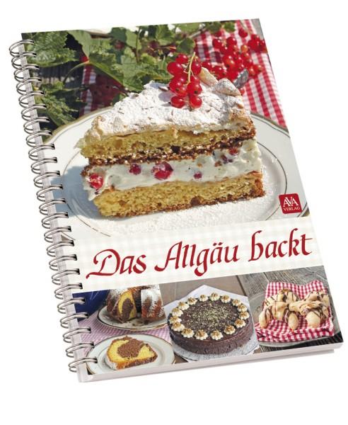 "Backbuch ""Das Allgäu backt"""