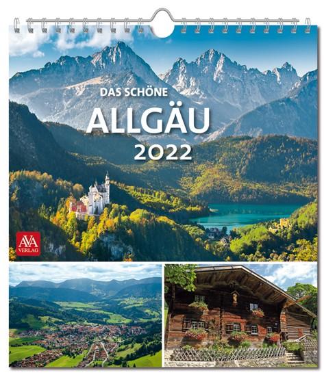 Postkartenkalender - Das schöne Allgäu 2022
