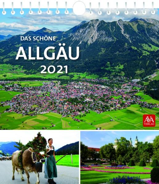 Postkartenkalender - Das schöne Allgäu 2021